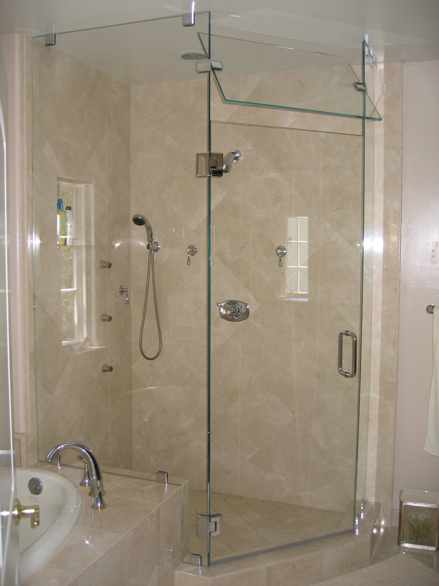 control with detail steam base enclosed shower product pvc room air panel